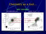 chemistry as a tool