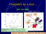 chemistry as a tool2
