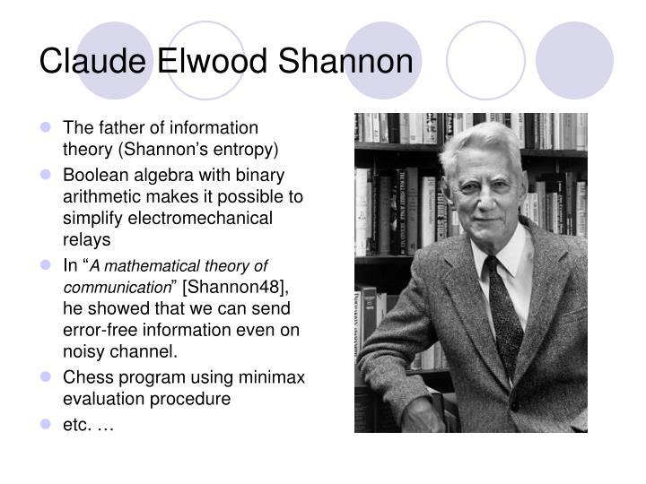 Claude Elwood Shannon