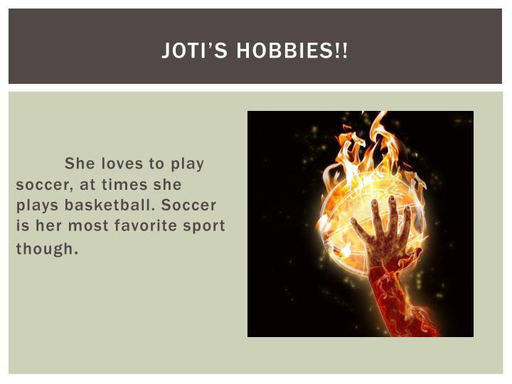 Joti's