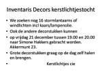 inventaris decors kerstlichtjestocht1
