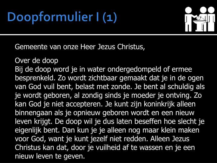 Doopformulier I (1)