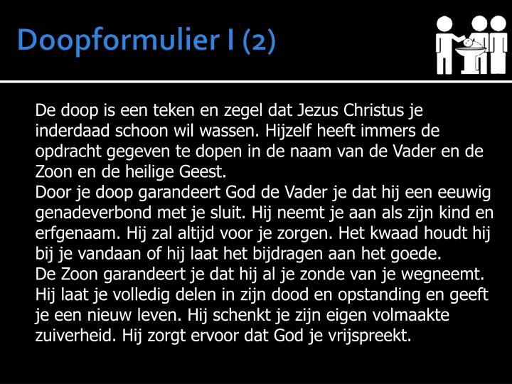 Doopformulier I (2)