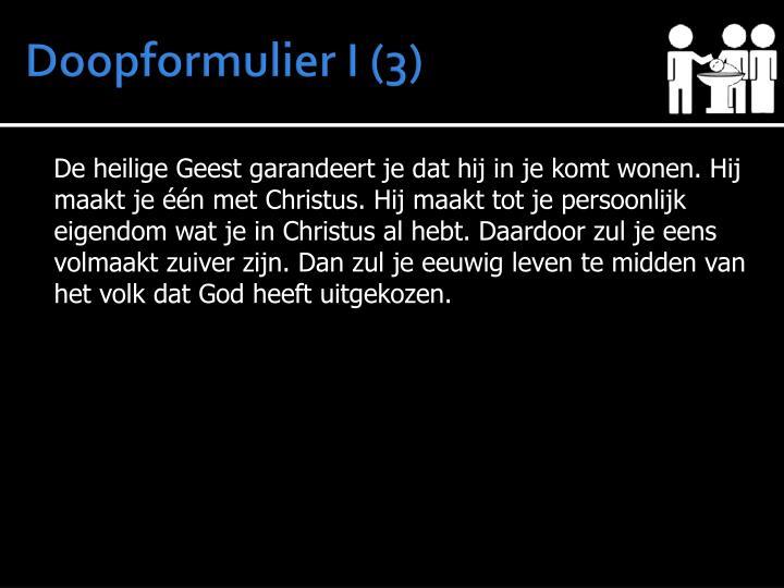 Doopformulier I (3)