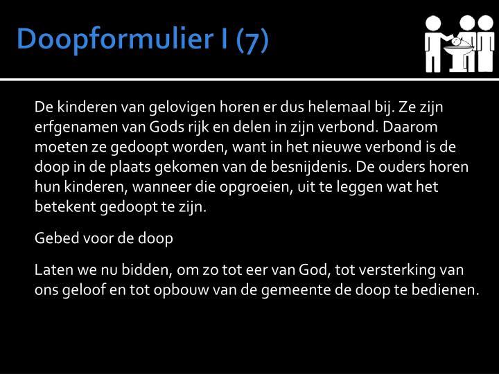 Doopformulier I (7)