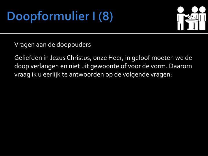 Doopformulier I (8)