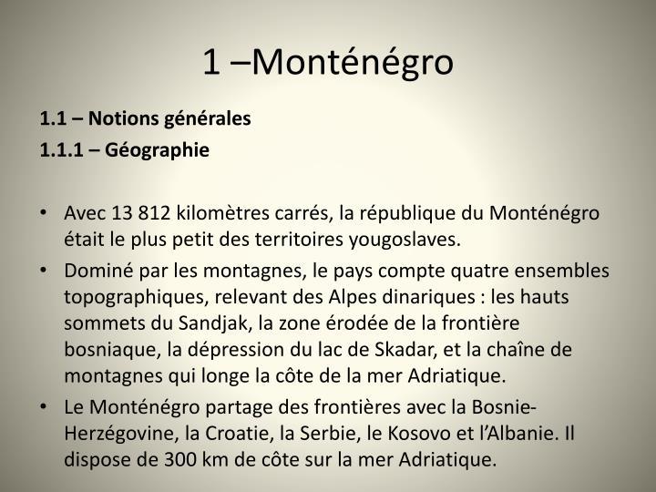 1 Montngro