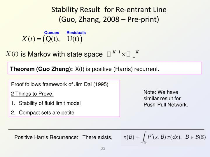 Stability Result