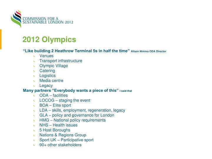 2012 Olympics