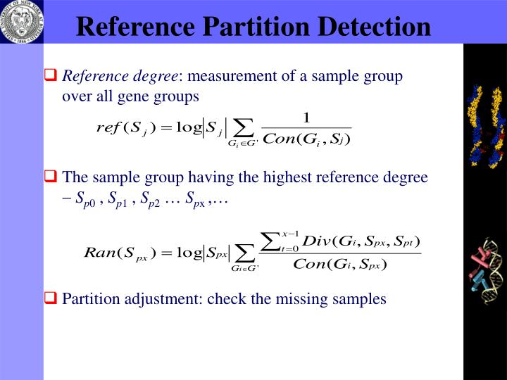 Reference Partition Detection