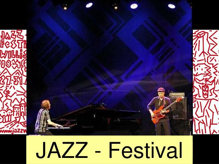 JAZZ - Festival