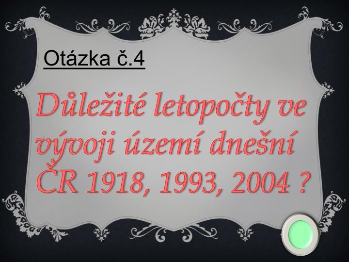 Otázka č.4