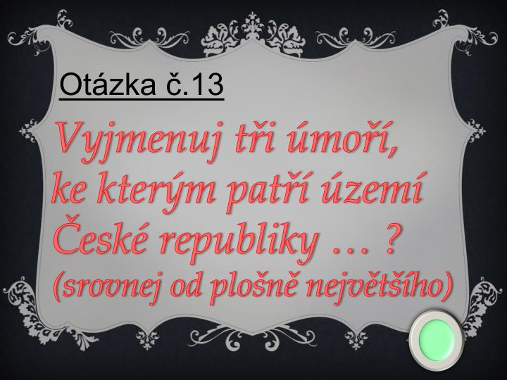 Otázka č.13