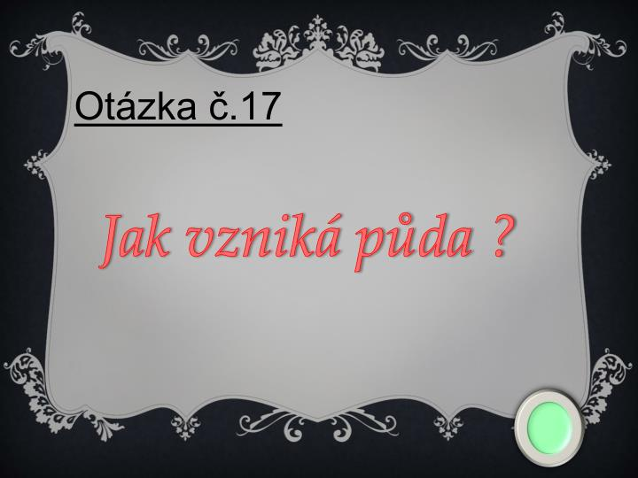 Otázka č.17