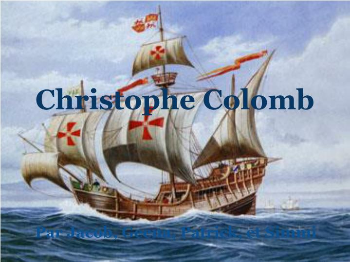 Christophe colomb