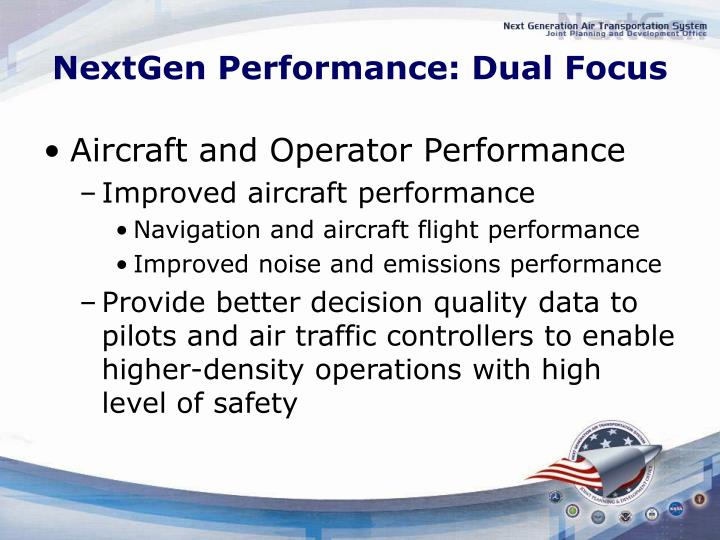 NextGen Performance: Dual Focus