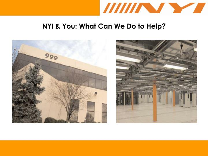 NYI & You: What Can We Do to Help?