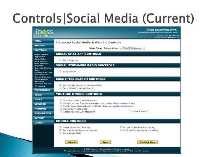 Controls|Social