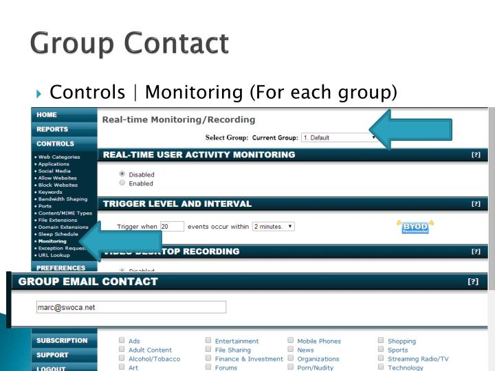 Group Contact