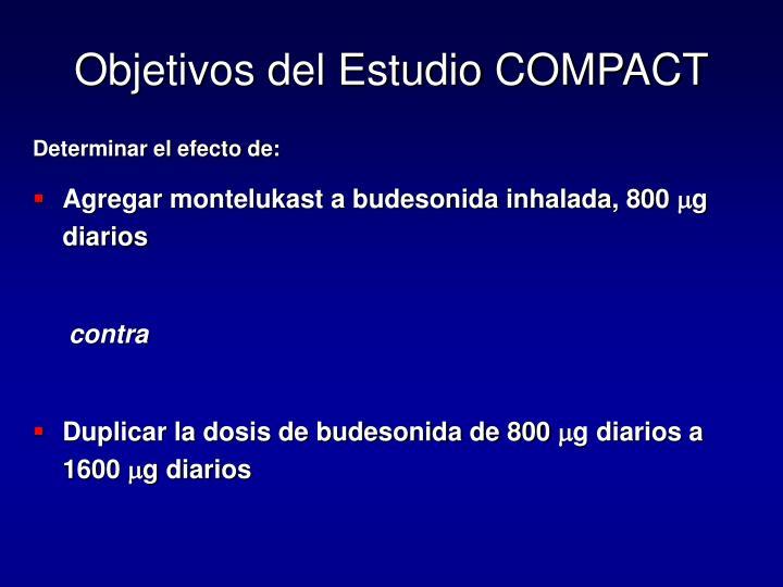 Objetivos del Estudio COMPACT