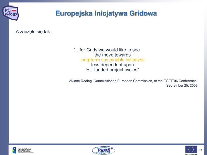 Europejska Inicjatywa Gridowa