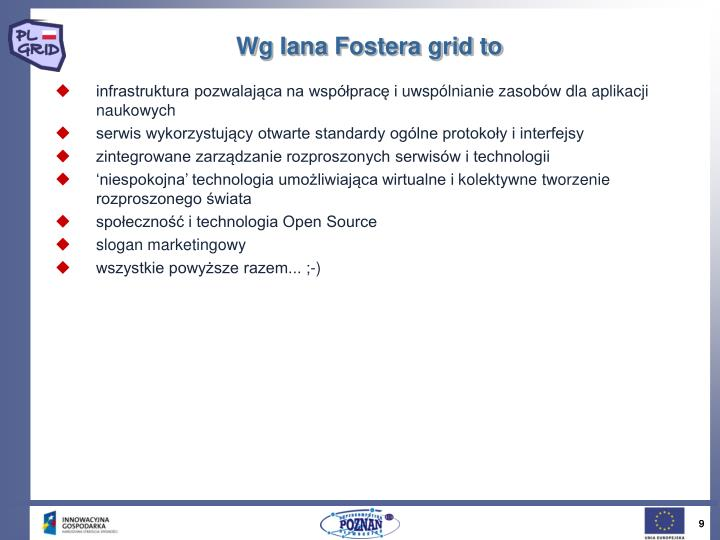 Wg Iana Fostera grid to