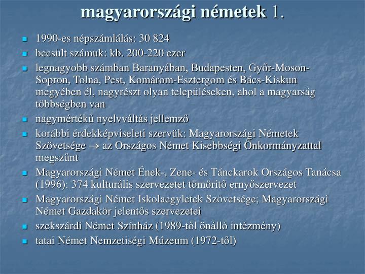magyarországi németek