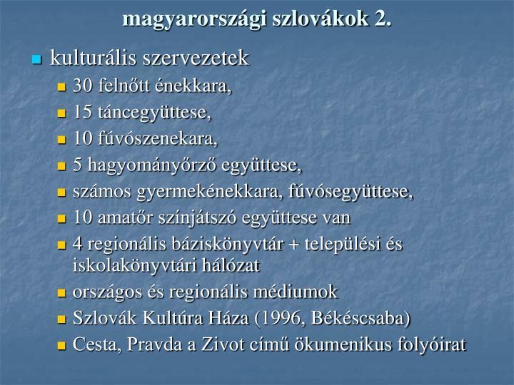 magyarországi szlovákok