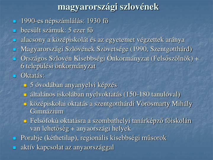 magyarországi szlovének