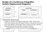 design of a continuous integration system deployment diagram1
