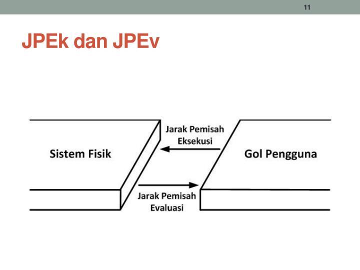 JPEk dan JPEv