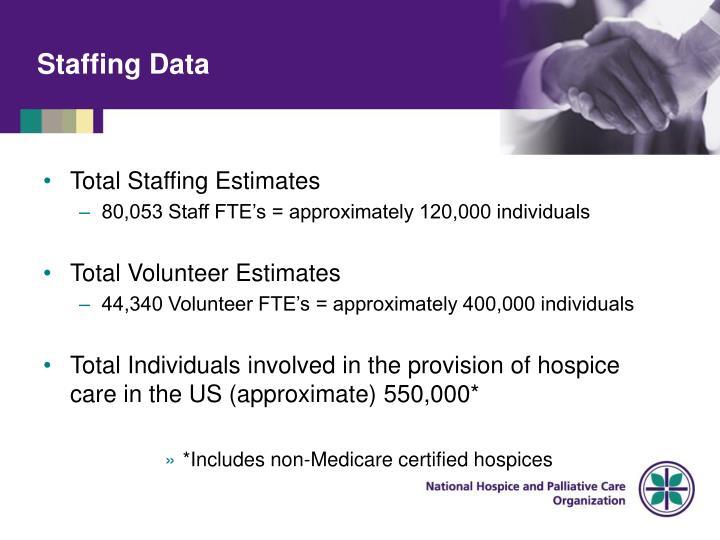Staffing Data