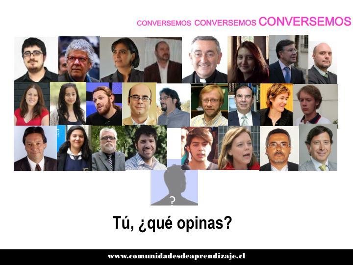 CONVERSEMOS