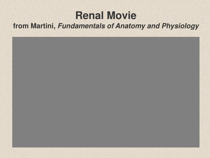 Renal Movie