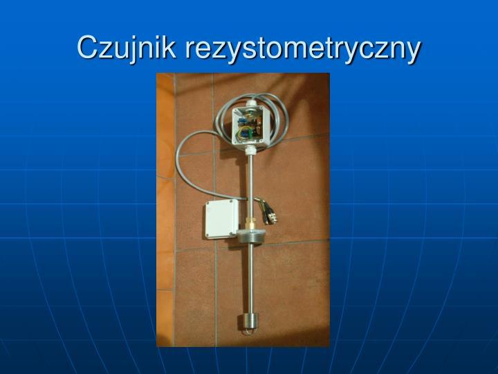 Czujnik rezystometryczny