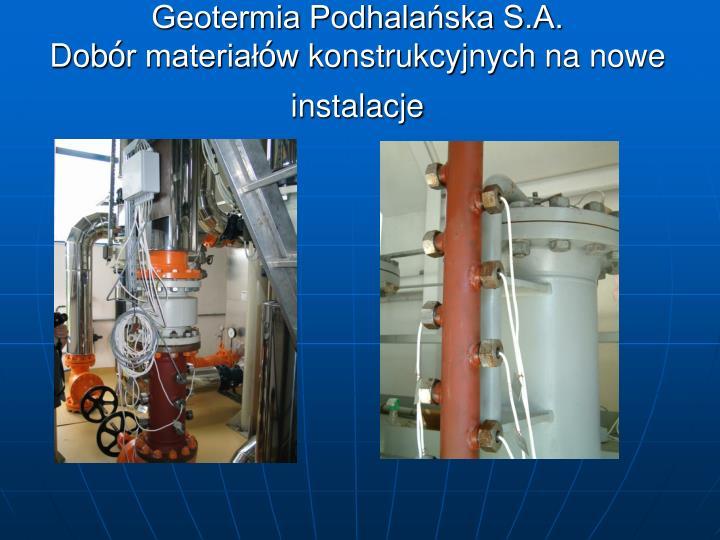 Geotermia Podhalańska S.A.