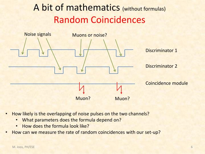 A bit of mathematics