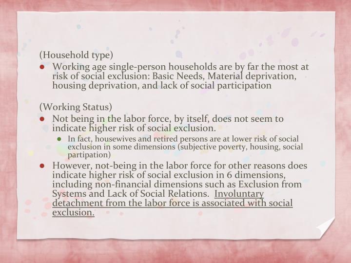 (Household type)