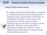 b2 b industrijski konzorcijum1