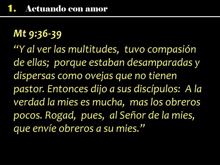 Mt 9:36-39