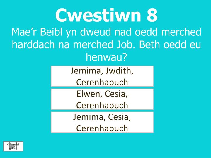 Cwestiwn