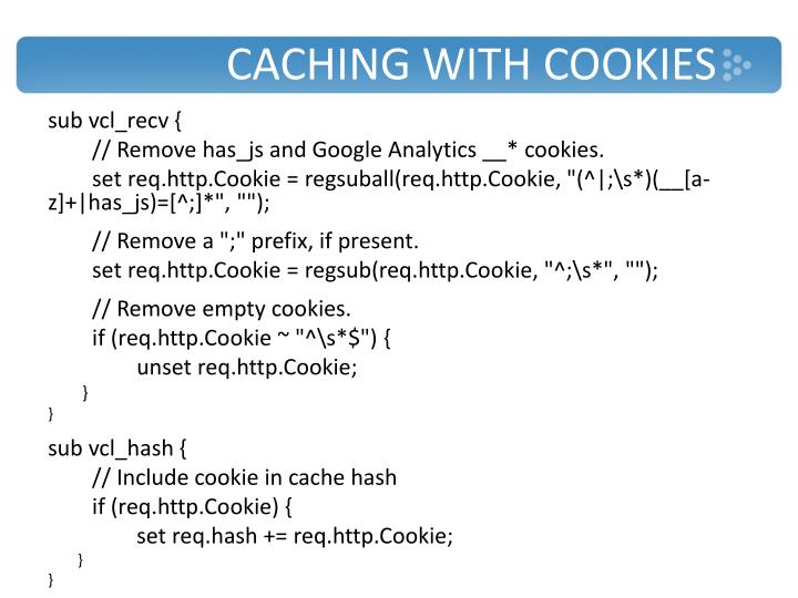 Caching with