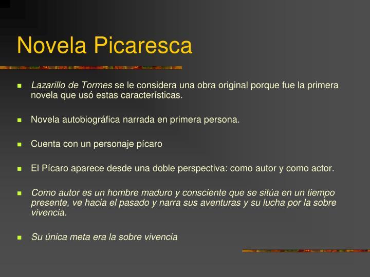 Novela Picaresca