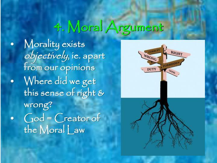 4. Moral Argument