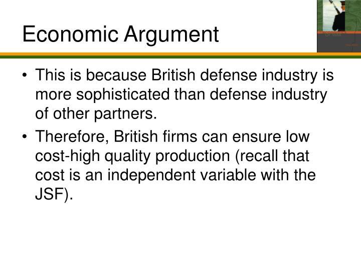 Economic Argument