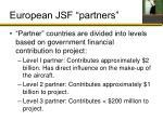 european jsf partners