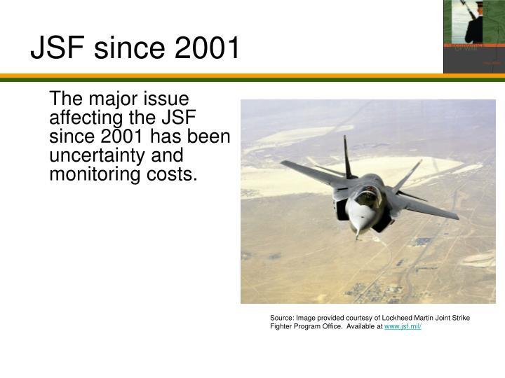 JSF since 2001