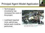 principal agent model application