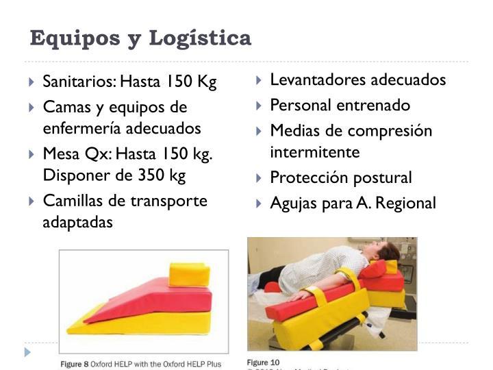 Equipos y Logística