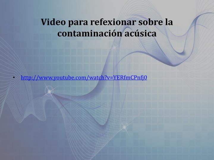 Video para